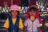 The Padaung or Kayan Lahwi or Long Necked Karen are a subgroup of the Kayan, a mix of Lawi, Kayan and several other tribes. Kayan are a subgroup of the Red Karen (Karenni) people, a Tibeto-Burman ethnic minority of Burma (Myanmar).