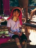 The Padaung or Kayan Lahwi or Long Necked Karen are a subgroup of the Kayan, a mix of Lawi, Kayan and several other tribes. Kayan are a subgroup of the Red Karen (Karenni) people, a Tibeto-Burman ethnic minority of Burma (Myanmar).